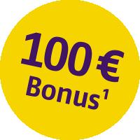 Bonus Störer - 100 EUR - 1