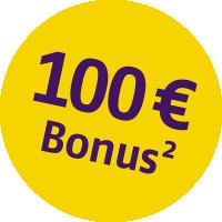 Bonus Störer - 100 EUR - 2