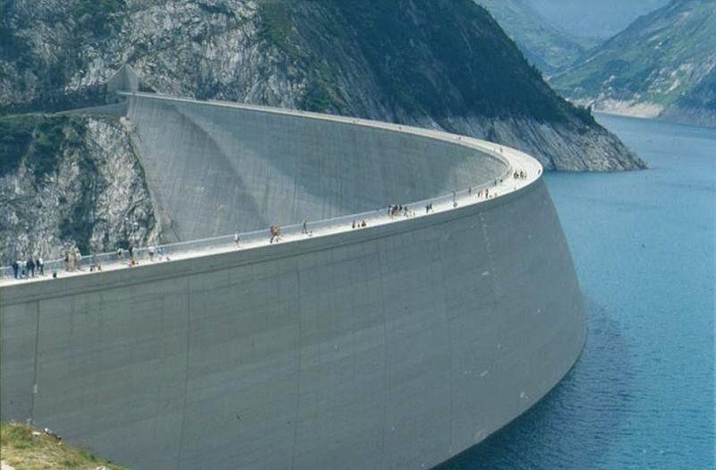 Bild: Speicherkraftwerk Maltatal, Wikimedia CC BY-SA 3.0