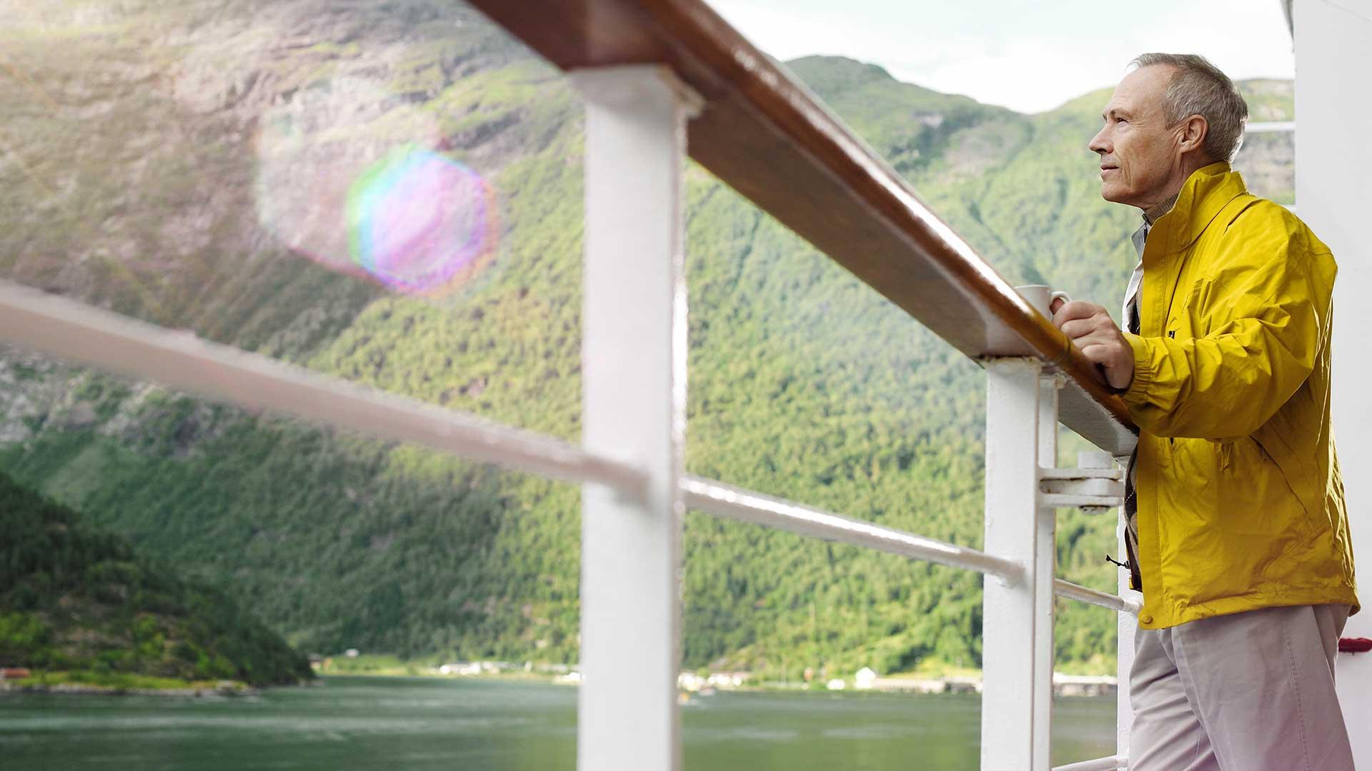 Kreuzschifffahrt umweltfreundlich