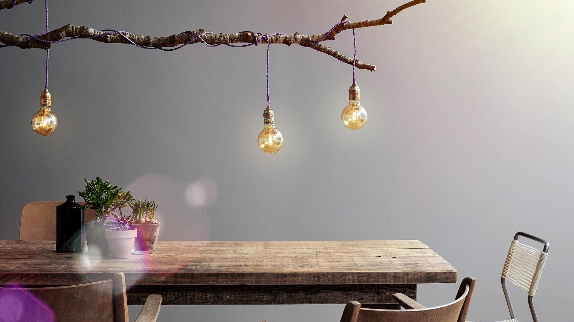 DIY: In wenigen Schritten zur eigenen Designerlampe