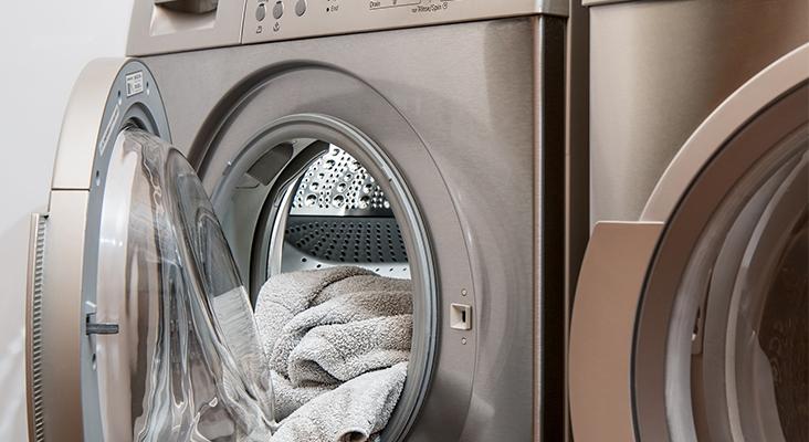Sind Waschmaschine und Trockner Stromfresser? Das kann man berechnen. - Bild: pixabay